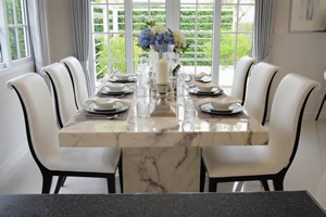 Custom Granite Dining Room Tables